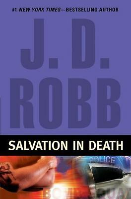 SALVATION IN DEATH by J.D. Robb a Hardcover book FREE USA SHIPPING Eve Dallas