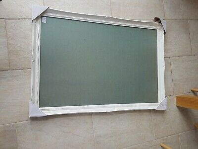 """Picture frame white vintage style. Large 24x36"""" 61x91cm. Suit wedding table plan"""