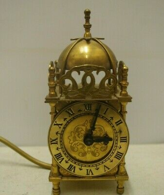 Vintage Smith's Clocks Domed Brass Decorative Carriage Clock - Spares Repairs