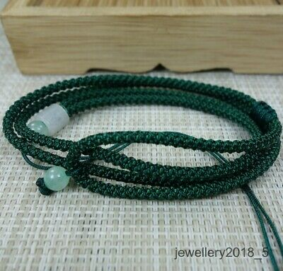 For jade Dark Green Or Black string cord rope 5 piece 28 inches