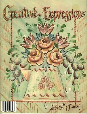 Decorative Painting Pattern Book CREATIVE EXPRESSIONS by Jo Sonja & David ©1993