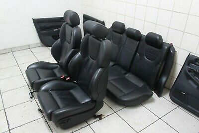 Recaro High Tech Teilleder Ausstattung Sitze Leather Seats Audi A4 S4 RS4 B5