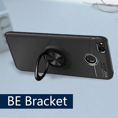 Shockproof Mobile Phone Shell Magnetic Ring Holder TPU Phone Case Cover Pro FJP