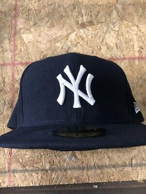 16845531d1cca1 New York Yankees NYY MLB Authentic New Era 59FIFTY Fitted Cap 5950 Baseball  Hat