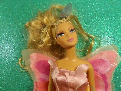 Barbie Doll Fairy / Butterfly W/ Tattoos. Untested.