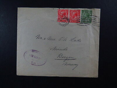 Cover Great Britain Southampton Paquebot 8 april 1924 The High Seas