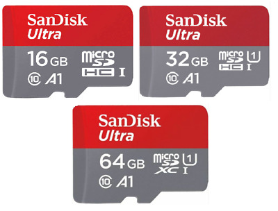 Sandisk Ultra 16GB 32GB 64GB MICRO SD XC 100MB/s Fit For Nintendo Switch & Lite
