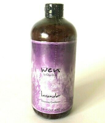 Wen By Chaz Dean Lavender Cleansing Conditioner 16 oz /480 ml New Sealed No Pump
