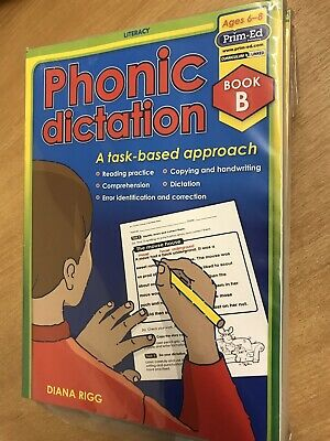 Phonic Dictation Book B • Task-Based Approach • Age:6-8yrs • Prim-Ed
