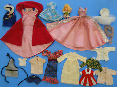 Vintage Barbie/Francie/Skipper 1960's Clothes & Doll LOT - Sophisticated Lady ++