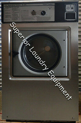 Wascomat Washer W125, 35Lb, Coin, 220V, 3Ph, Reconditioned