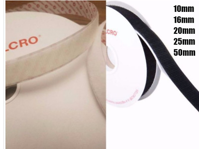 VELCRO® PS14 Hook and loop Self Adhesive Sticky tape 10mm,16mm,20mm,25mm & 50mm
