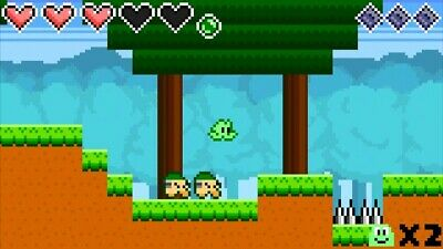 Frog Hop - cute and quirky old-school adventure platformer! -  Steam Download