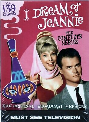 I Dream of Jeannie: The Complete Series  12 DVD  Box Set New Free Shipping