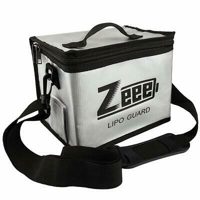 Zeee Lipo Battery Fireproof Explosionproof Bag Large Capacity Lipo Battery Stora