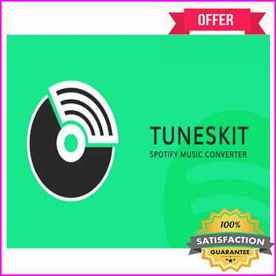 Tuneskit Spotify Music Converter 2019 <>Life Time License<>INSTANT DELIVERY<>