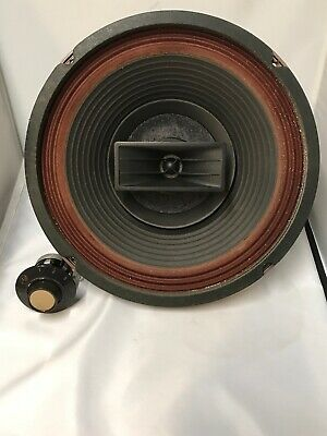 "Vintage EV Electro Voice 12TRXB Triaxial 3 Way 12""  Speaker With Volume Control"