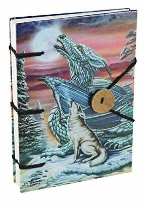 Dragon Wolf Moon Handmade Journal, Art by Ed Beard Jr.