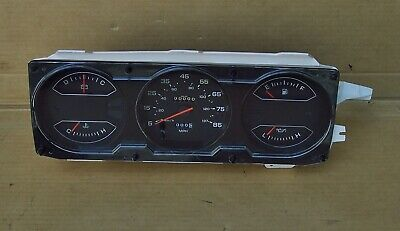 81 87 89 dodge ram d150 w150 truck ramcharger dash panel gauge cluster  restored