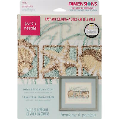 Dimensions 73152 Punch Needle Kit Seashells