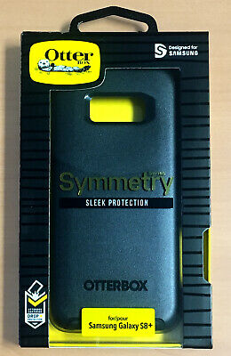 Samsung Galaxy S8+ Case Otterbox Symmetry Series Sleek Protection  Black S8 Plus