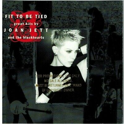 JOAN JETT and the Blackhearts - Fit to Be Tied: Great Hits by Joan Jett CD 1997