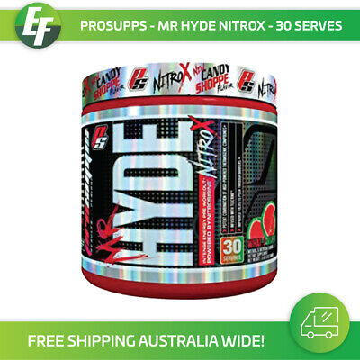 Mr Hyde NITROX Pro Supps Extreme Pre Workout Preworkout 30 Serves