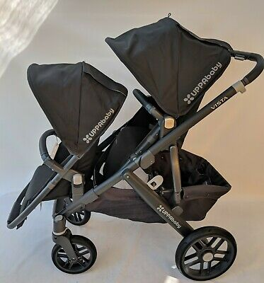 Uppababy Vista Double Stroller Jake 2018 2019