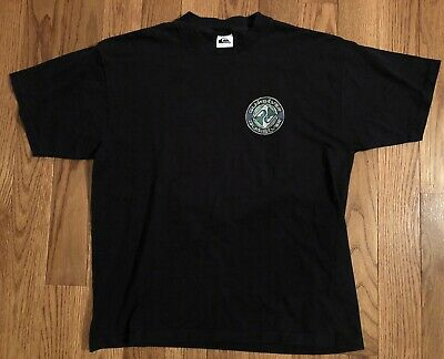 d11e885f2f 90S VINTAGE SURF Quicksilver black and gray large t shirt - $19.99 ...