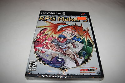 RPG Maker 3 Sony Playstation 2 PS2 Video Game New Sealed