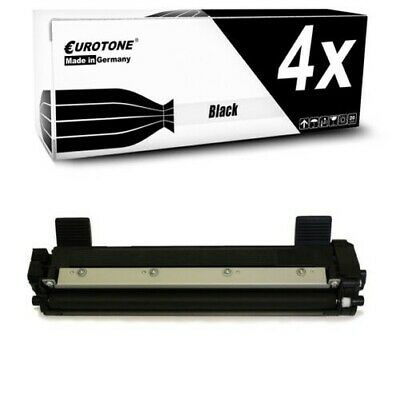 4x Eurotone Cartuccia Compatibile per Brother DCP-1610-W HL-1112-A MFC-1911-NW