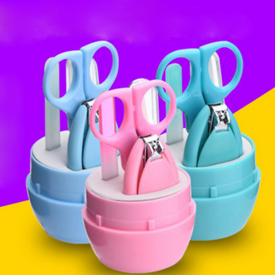4pcs Child Baby Newborn Infant Finger Toe Nail Clipper Cutter Safety Manicure CN
