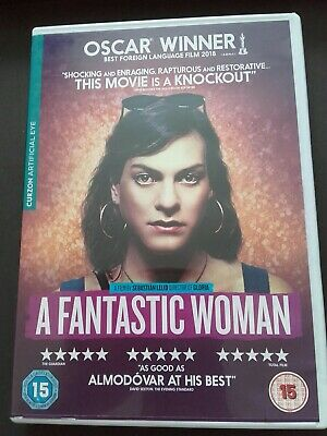 """A Fantastic Woman"" DVD Spanish Trans Woman Drama about Acceptance"