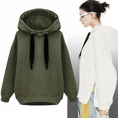 Autumn Fashion Pullover Women Loose Plus Thickening Warm Long Sleeved Hoodie p8