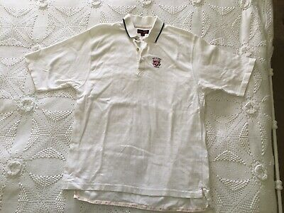 Mulberry Vintage Mens Tennis Top Polo Shirt