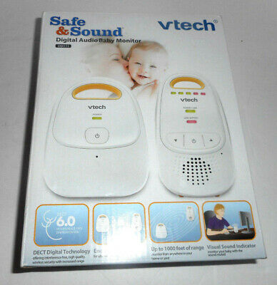 NEW Vtech Communications Safe and Sound Digital Baby Audio Monitor DM111  *LQQK*