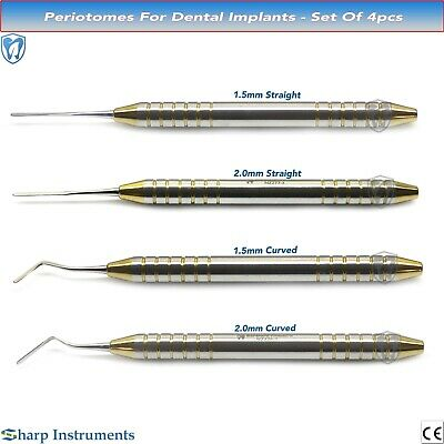 Dental Periotome Scaler PDL Periodontal For Ligament Atraumatic Extraction Steel