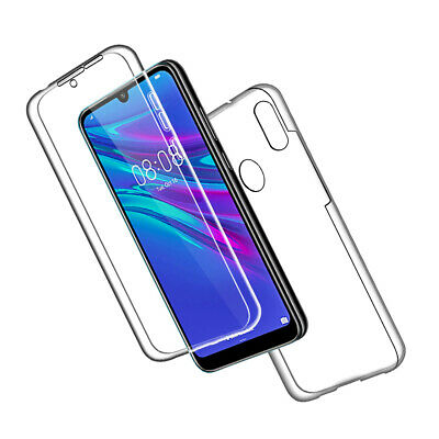 SDTEK Case for Huawei Y6 (2019) Full Body 360 Cover Silicone Front and Back