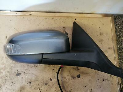 VOLVO V50 RIGHT OS DOOR WINGMIRROR GREY MK1 Electric  06-08