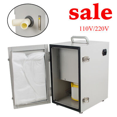 Dental Double-Row Impeller Dust Collecting Collector Vacuum Cleaner System