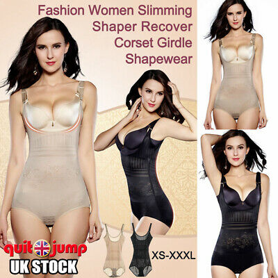 Women Ladies Slim Body Shaper Underbust Corset Underwear Tummy Control Shapewear