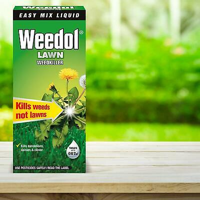 Weedol Lawn Weedkiller Concentrate 1L Verdone Extra