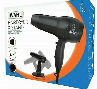 WAHL HAIRDRYER WITH STAND - Pet Grooming 1800w Hair Dryer Kit PawMits bp Dog