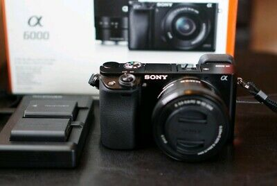 SONY ALPHA A6000 Mirrorless W/ 16-50mm OSS Lens and Free