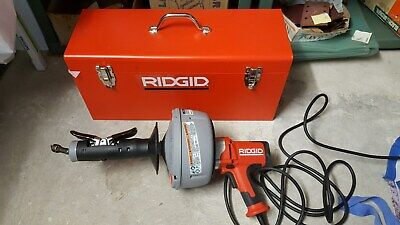 Ridgid K-45 AF Drain Cleaning Machine Only Autofeed