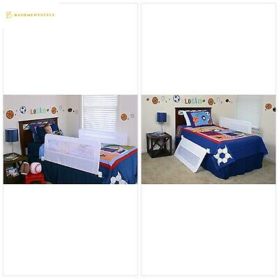 Regalo Swing Down Double Sided Bed Rail Guard, with Reinforced Anchor Safety Sys