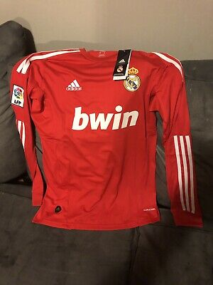 best website 7af08 45a86 CRISTIANO RONALDO 2011/2012 Real Madrid CR7 Soccer Football Long Sleeve  Jersey