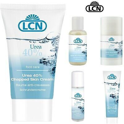 LCN Professional Urea Foot Skin Cream For Thick Chapped Callused Skin 10-40%