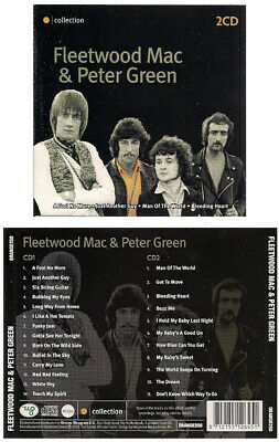 FLEETWOOD MAC & PETER GREEN sealed double cd COLLECTION 2008