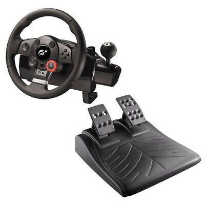 Logitech Driving Force GT Feedback Racing Wheel & Pedals *BRAND NEW* PS3/PC